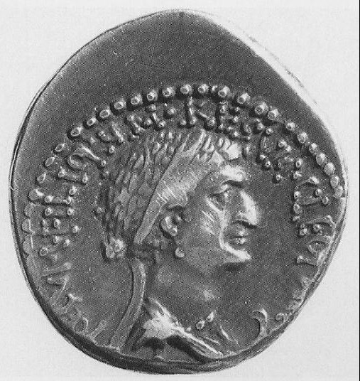 Queen Cleopatra: Cleopatra VII on coins (4)