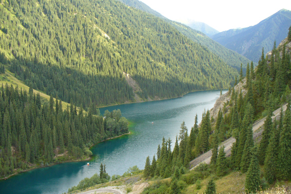 Altai. The Kucherla lake